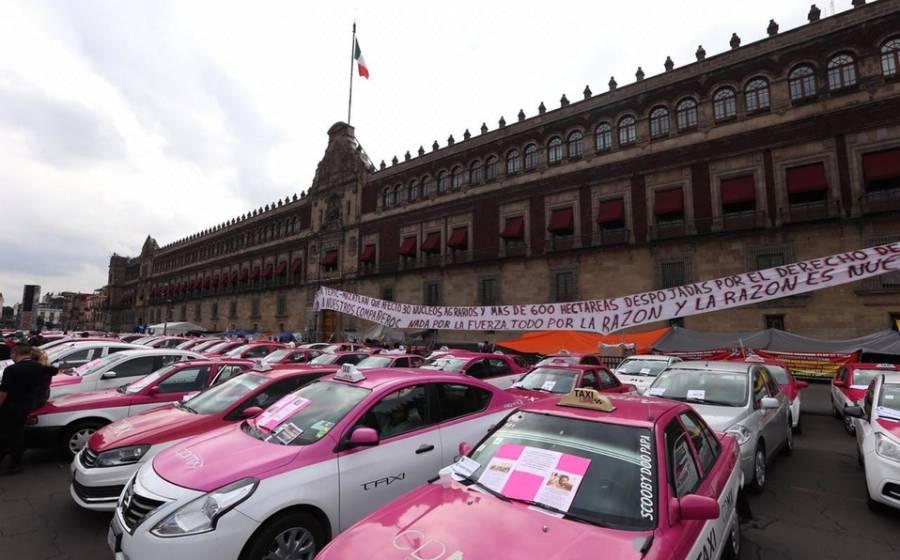 Taxistas anuncian manifestaciones