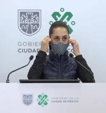 Sheinbaum niega conflicto con García Harfuch desmanes en Reforma