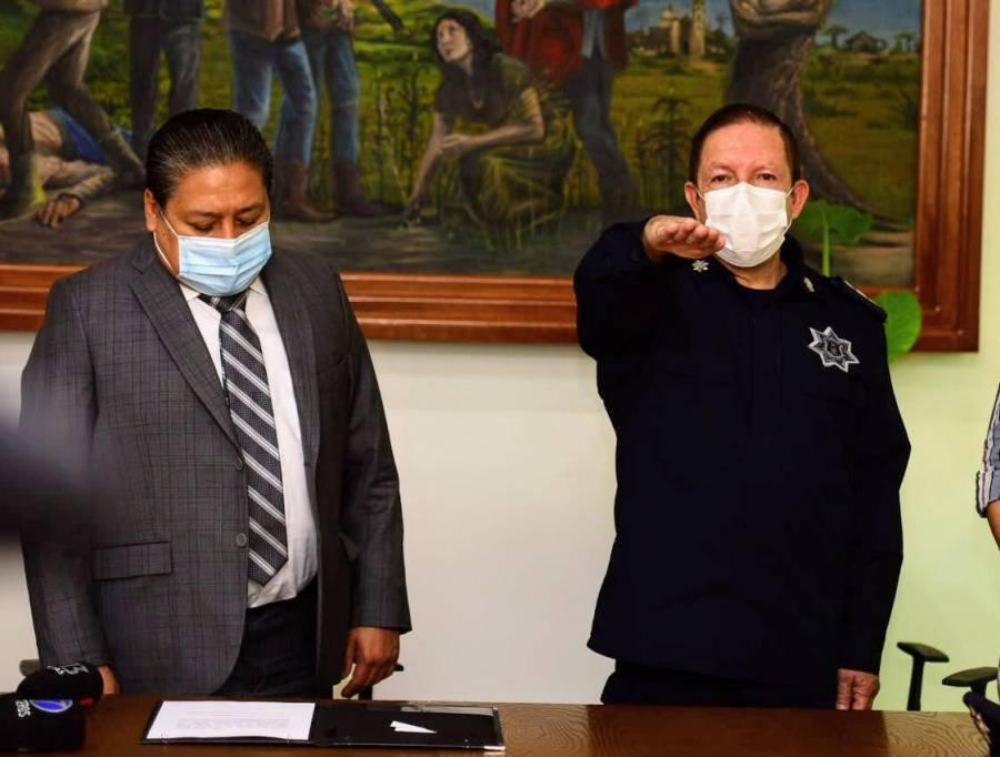 José Luis Urban Ocampo asumen la Dirección de Seguridad Pública de Soledad