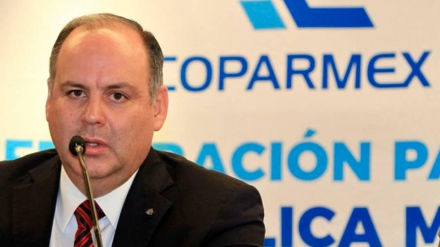 Coparmex niega participación en el Bloque Opositor Amplio