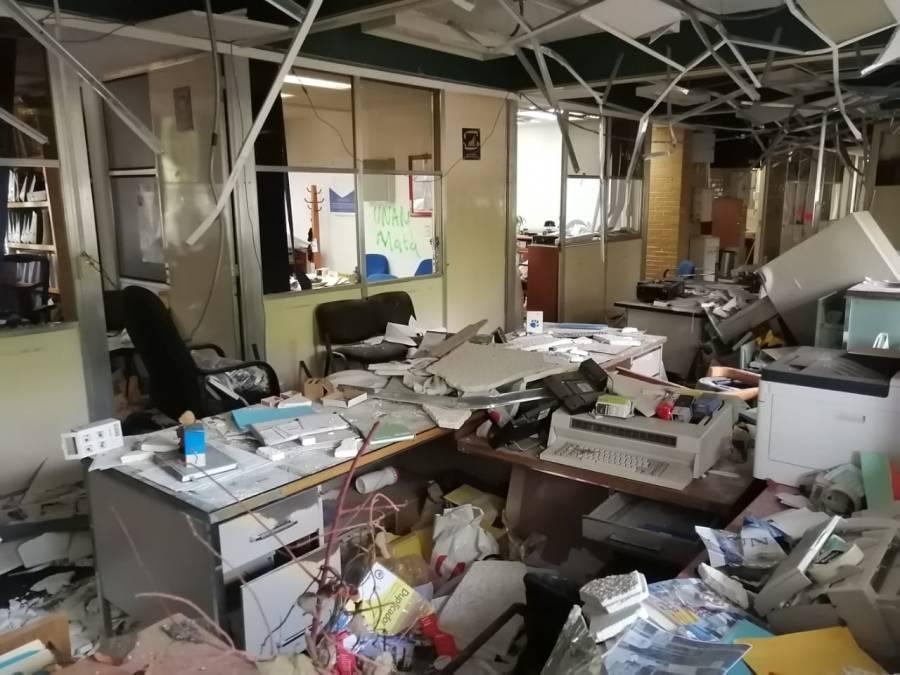 Paristas destrozaron  90% de mobiliario