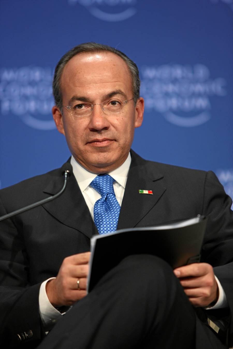 Calderón desconoce documentos sobre BOA presentados por AMLO