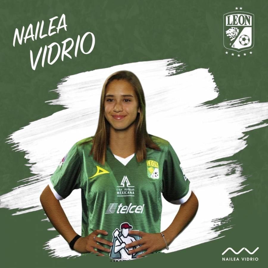 Nailea Vidrio se convierte en nueva jugadora de León Femenil