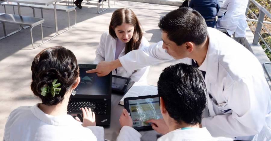110 estudiantes tuvieron la posibilidad de continuar con sus trámites de titulación vía remota; UNAM