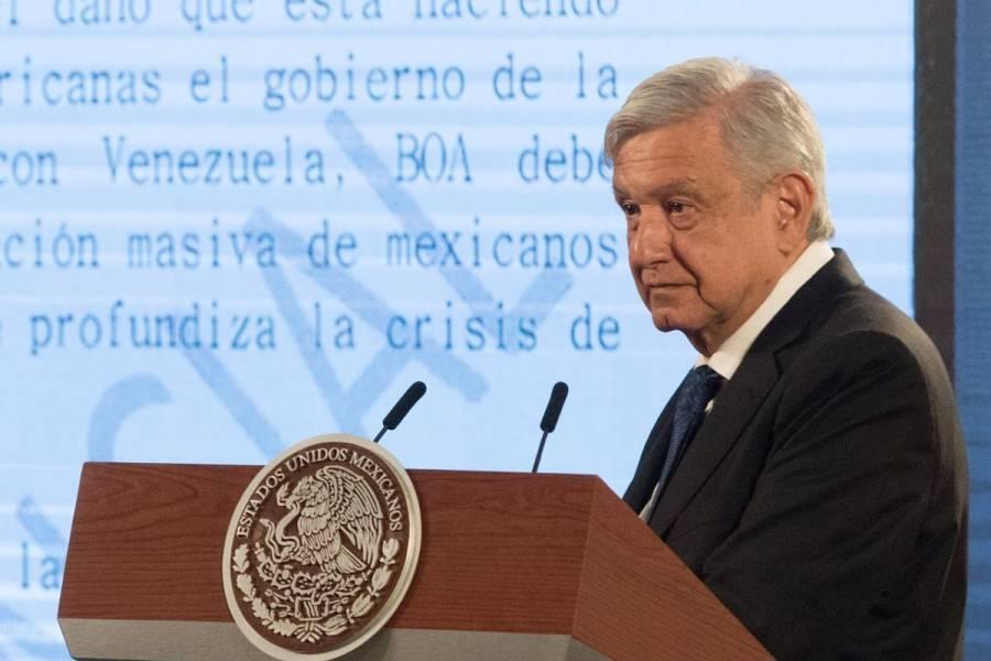 """""""De caricatura"""" quejas de Coparmex ante rey de España: AMLO"""