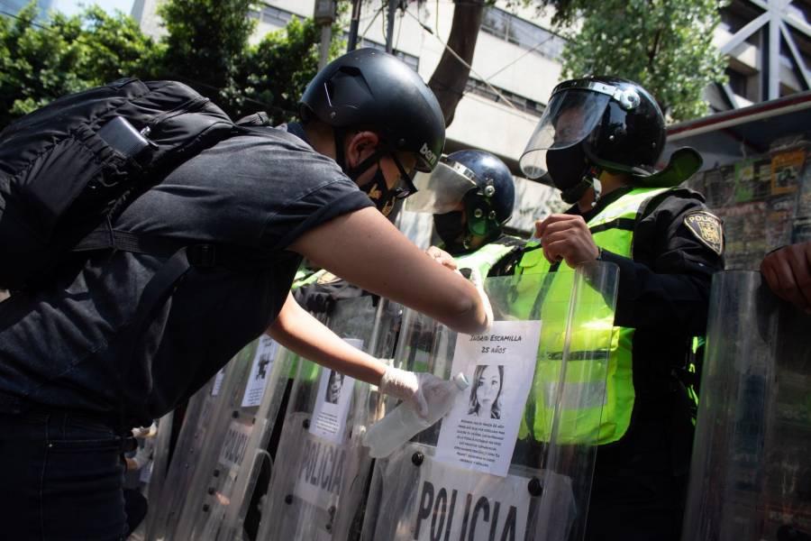 GobCDMX busca nuevos protocolos para evitar represión en marchas