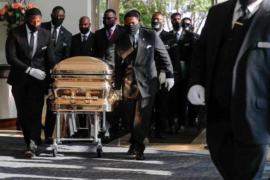 Este martes se lleva a cabo el funeral de George Floyd