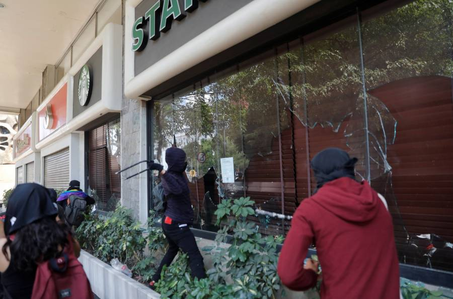 Marchas dejan daños por 22 mdp: Canaco