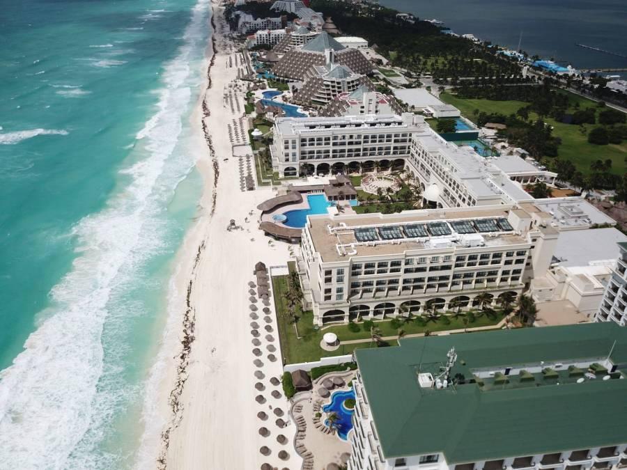 ...Y Cancún lo hace con el país en riesgo máximo