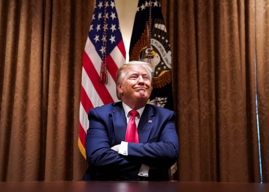 Trump reanudará actos de campaña en cuatro estados