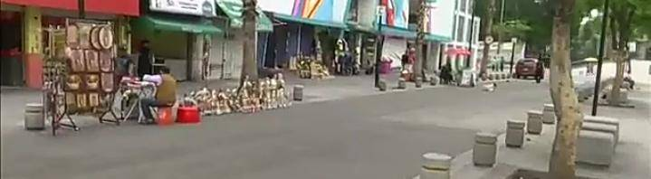 Comerciantes se reinstalan en los alrededores de la Basílica de Guadalupe