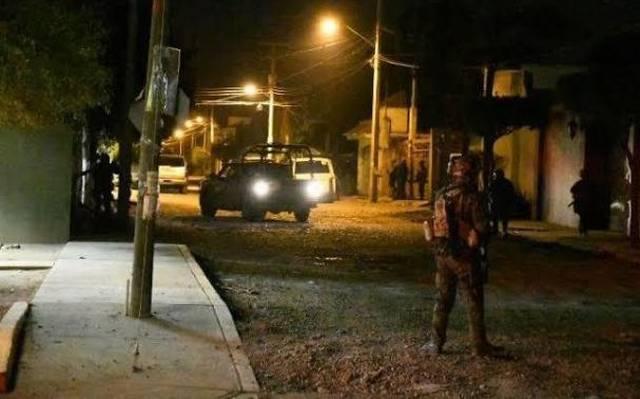 6 muertos 3 heridos en balaceara en narcocasa en Nuevo Leon