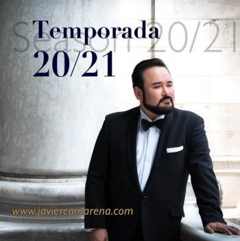 El tenor Javier Camarena anuncia su gira 2020/2021