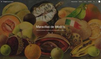 """""""Maravillas de México"""" por Google Arts & Culture"""