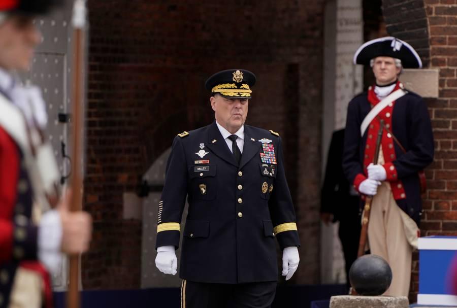 Jefe militar también se desmarca de Trump