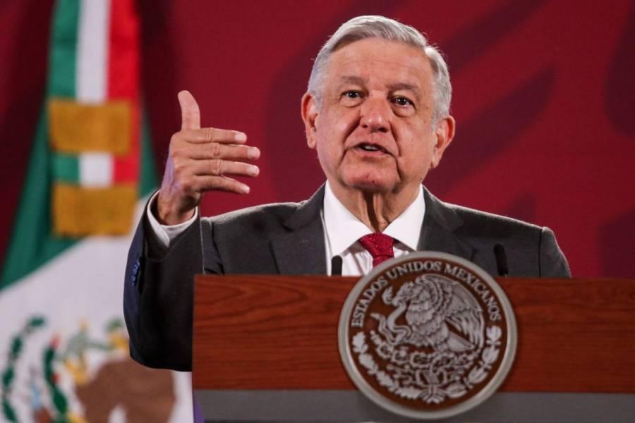 """""""Vamos en descenso"""": AMLO descarta rebrote de Covid-19 en México"""