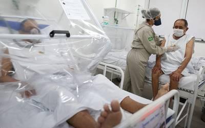 Brasil segundo país con más casos de COVID-19 en el mundo