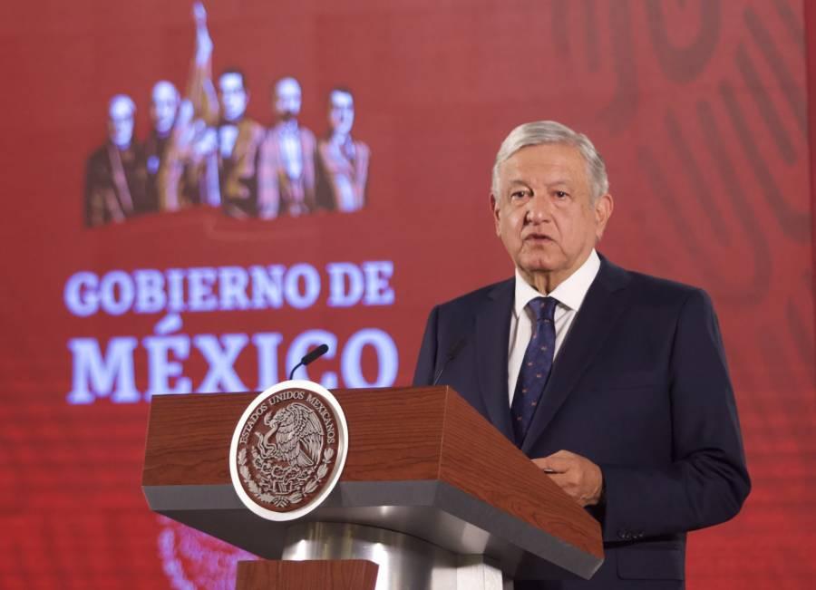 """AMLO asegura estar """"sin angustia"""" sobre la seguridad en México"""
