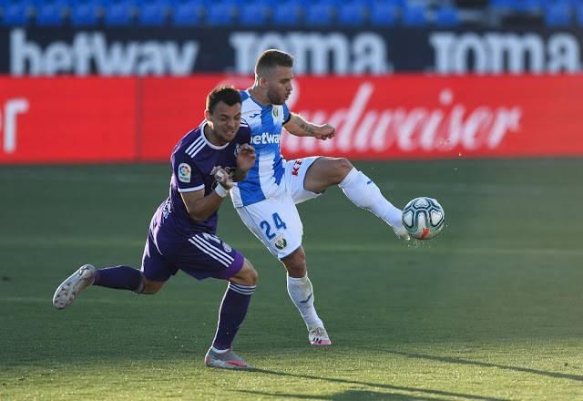 El Leganés de Aguirre pierde ante Valladolid