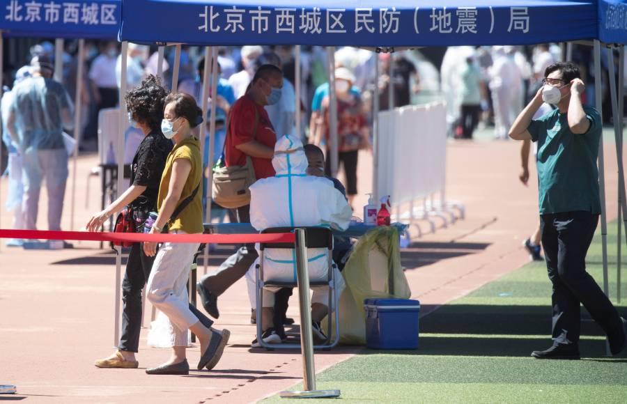 China reporta 57 nuevos casos de Covid-19; 36 son de Pekín