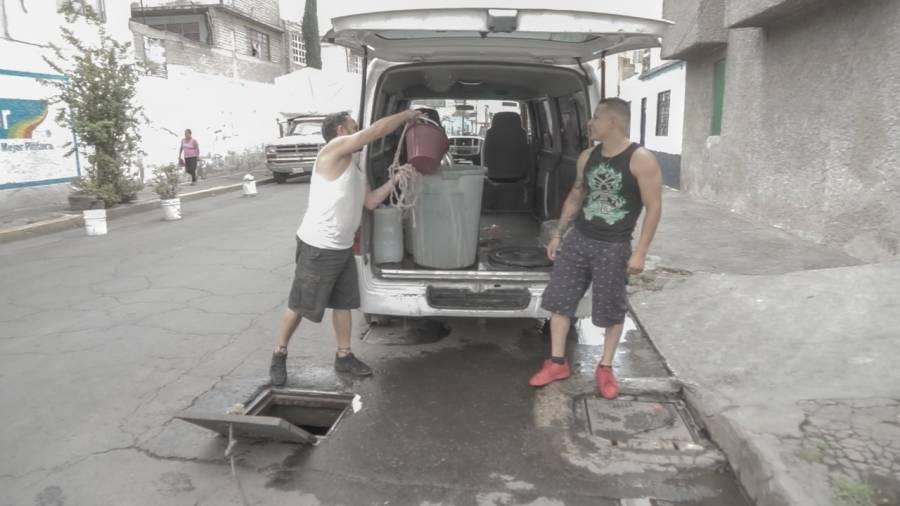 """""""El municipio nos está matando"""", La Juárez Pantitlán de Neza sin agua desde hace un año"""