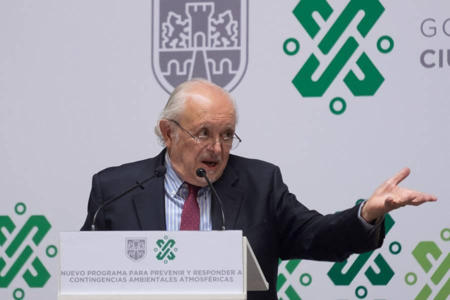 Mario Molina recomienda el uso de cubrebocas