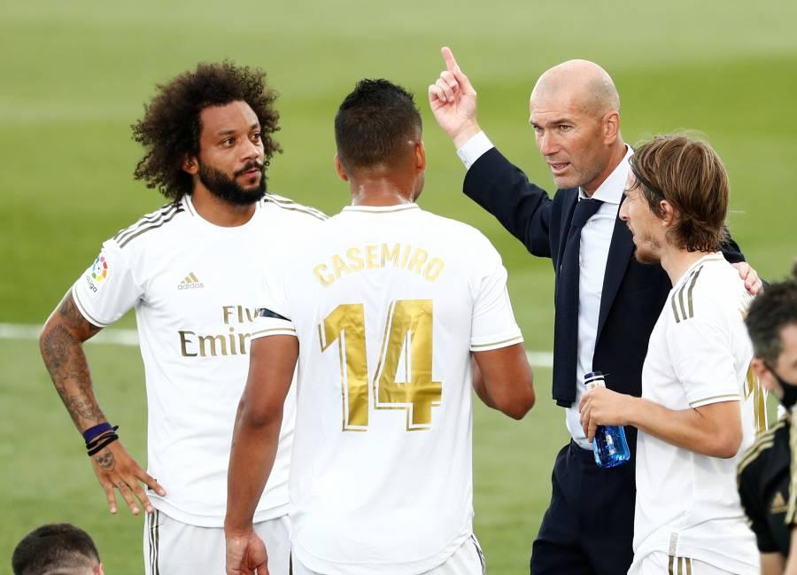 Zidane regresa con victoria y 200 juegos en el Real Madrid