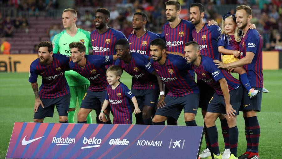 DT de Barcelona todavía no decide si Suárez será titular ante Leganés