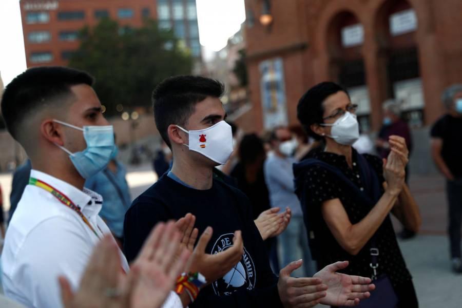 Muertes por Covid-19 en España se mantienen por octavo día consecutivo