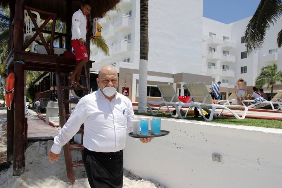 Playas y hotelería reabren al 30% de capacidad