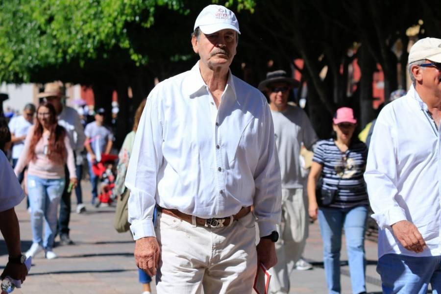 Respalda exPresidente Vicente Fox a los miembros del bloque GOAN