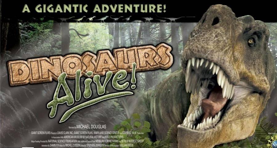 """""""Dinosaurios Viven"""", el antes y después de los reptiles gigantes"""