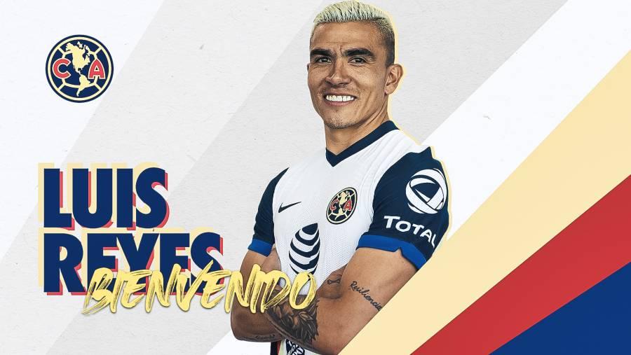 Oficial: Luis Reyes, primer refuerzo del América para el Apertura 2020