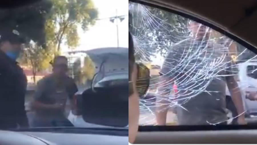Semovi sancionará a taxista que agredió a conductor en la CDMX