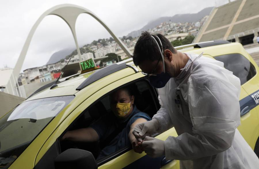 Brasil registra récord con más de 34 mil casos de Covid-19 en 24 horas