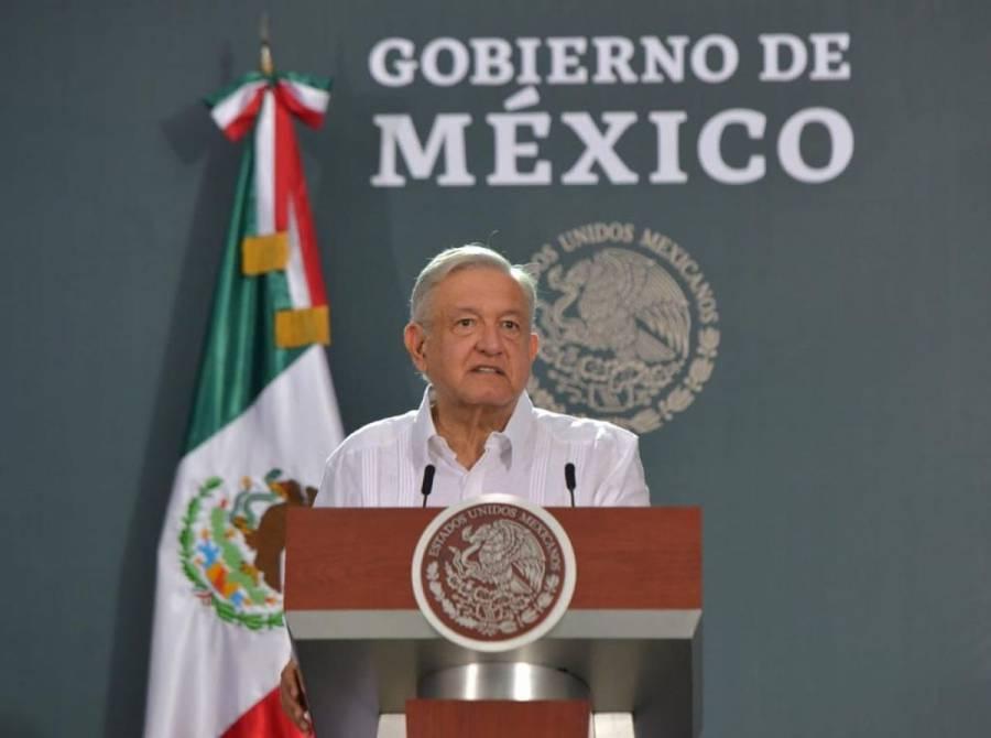 """""""Les molesta defensa a CFE y pagar impuestos"""": AMLO"""