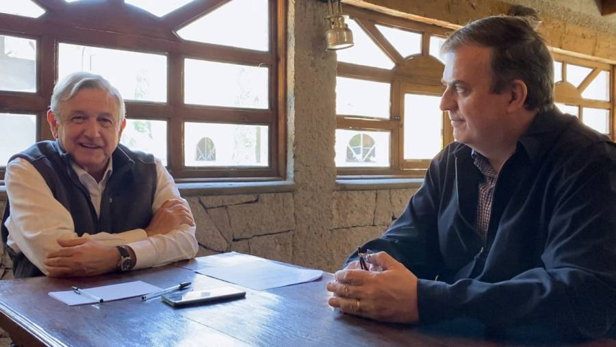 López Obrador y Trudeau discuten T-MEC, coronavirus…