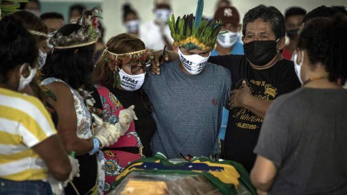 Brasil se coloca como el segundo país más afectado por la pandemia de Covid-19