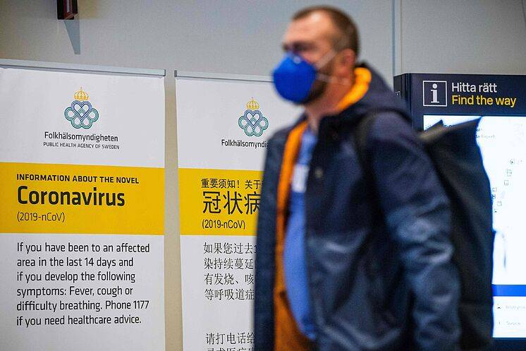 Llega Suecia a más de 5 mil muertos por coronavirus