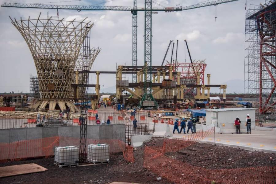 Ofertan 49 mil toneladas de acero del aeropuerto de Texcoco