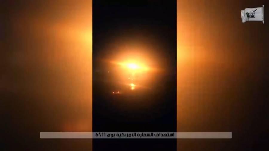 Caen 4 misiles en la Zona Verde de Bagdad