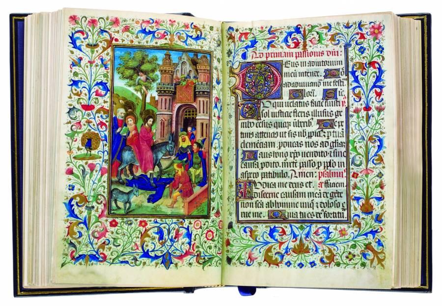 """""""El Libro de Horas"""", manuscrito católico con arte perfecto"""