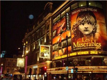 Obras musicales en Londres abrirán hasta 2021 por Covid-19