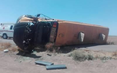 Accidente en Sonora deja 13 heridos