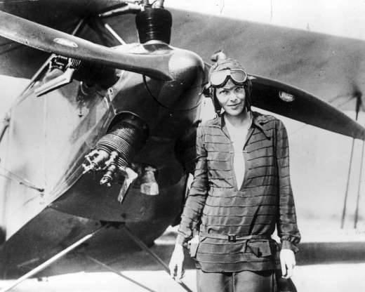 Amelia Earhart, el cruce del Atlántico