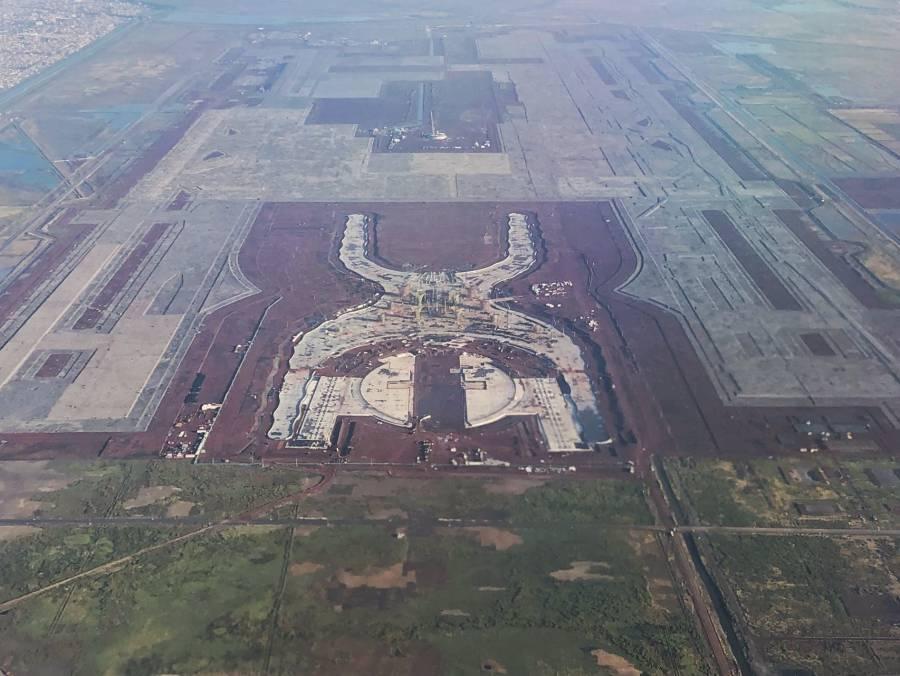 Grupo Aeroportuario anuncia venta de 49 mil toneladas de acero del NAIM