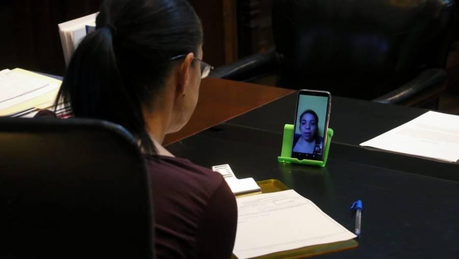 Sheinbaum ha atendido a 70 ciudadanos vía videollamada