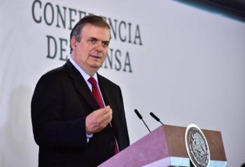 México agradece apoyo para formar parte del Consejo de Seguridad