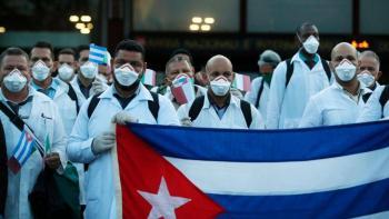 México podría recibir sanción de EU por apoyar a médicos cubanos