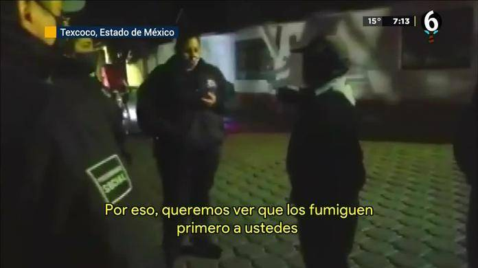 No permiten sanitización en Texcoco por temor